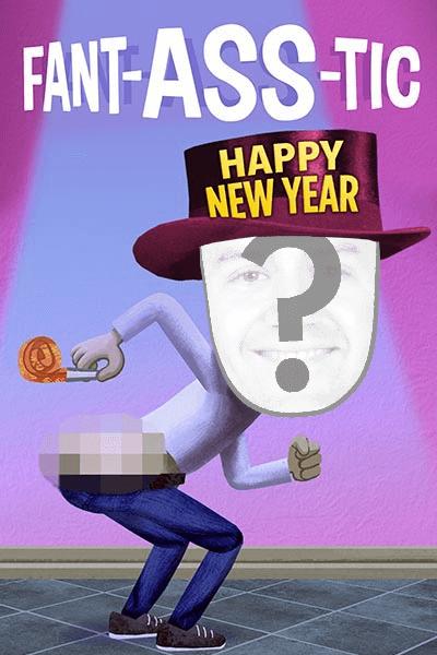 view fantasstic new year ecard