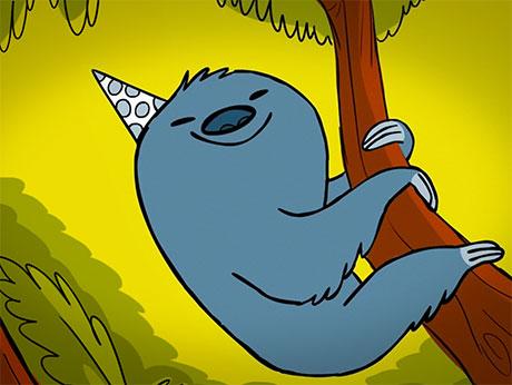 New Ecard Sloth Birthday The Jibjab Blog