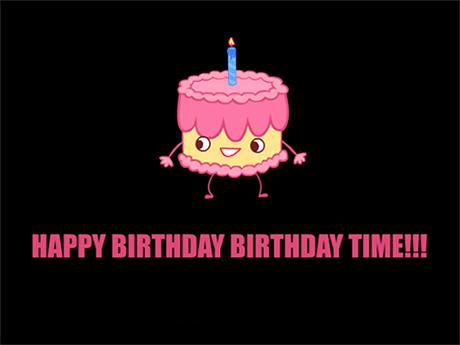 Jibjab Ecards Happy Birthday Birthday Time Ecard
